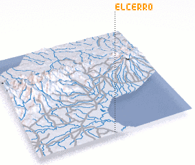3d view of El Cerro