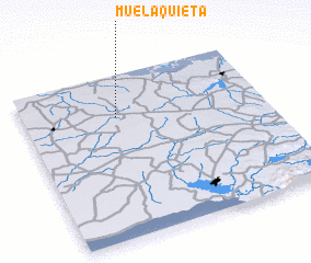 3d view of Muela Quieta