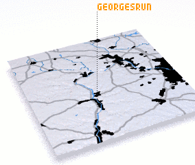 3d view of Georges Run