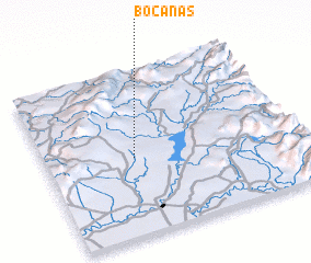 3d view of Bocanas