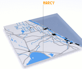 3d view of Marcy