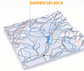3d view of Barranco Blanco