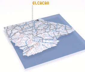 3d view of El Cacao