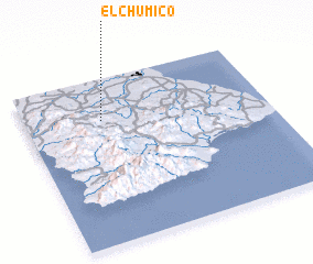 3d view of El Chumico