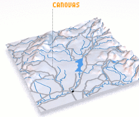 3d view of Canovas