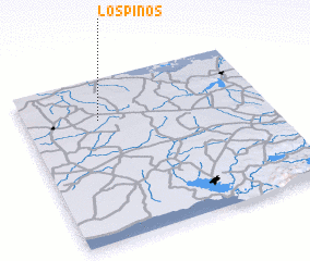 3d view of Los Pinos