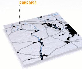 Paradise United States Usa Map Nona Net