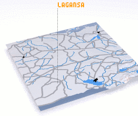3d view of La Gansa