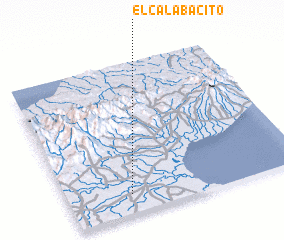 3d view of El Calabacito