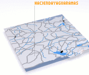 3d view of Hacienda Yaguaramas