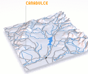 3d view of Cañadulce