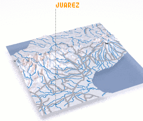 3d view of Juárez