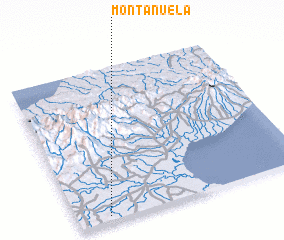 3d view of Montañuela