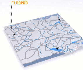 3d view of El Borro