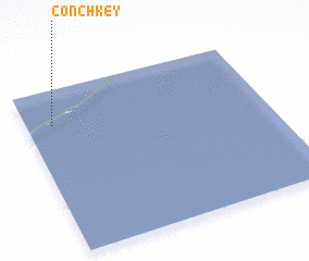 3d view of Conch Key