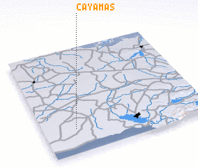 3d view of Cayamas