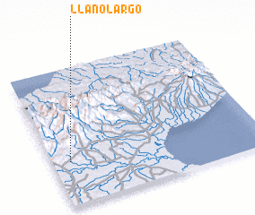 3d view of Llano Largo