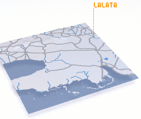 3d view of La Lata