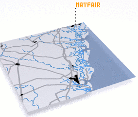 3d view of Mayfair