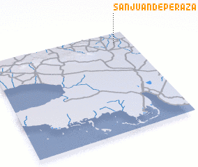 3d view of San Juan de Peraza