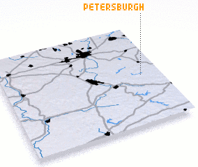 3d view of Petersburgh