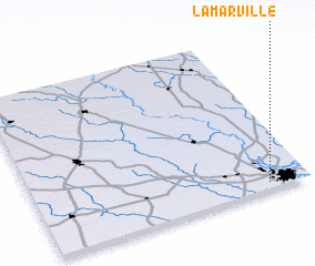 3d view of Lamarville