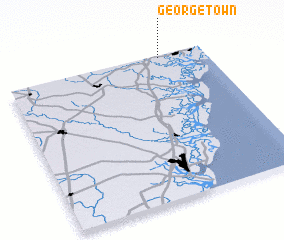 3d view of Georgetown