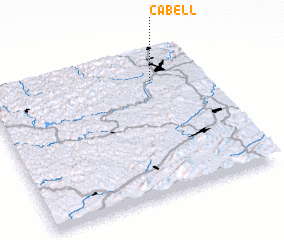 3d view of Cabell