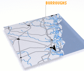 3d view of Burroughs