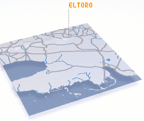 3d view of El Toro
