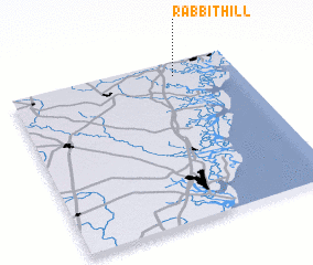 3d view of Rabbit Hill