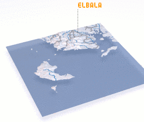 3d view of El Bala