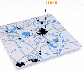 Aloma (United States   USA) map   nona.net