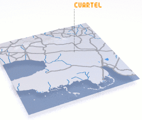 3d view of Cuartel