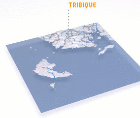 3d view of Tríbique