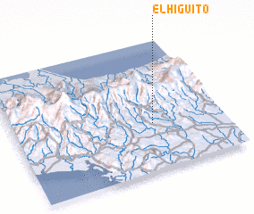 3d view of El Higuito