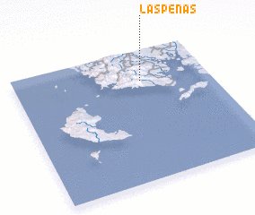 3d view of Las Peñas