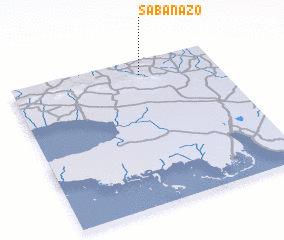 3d view of Sabanazo