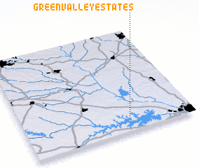 3d view of Green Valley Estates