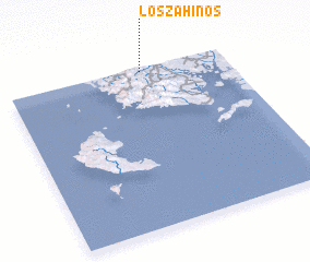 3d view of Los Zahinos