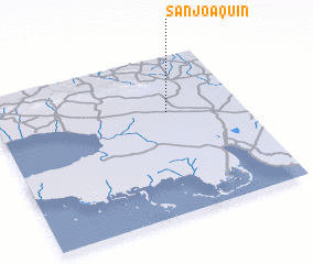 3d view of San Joaquín