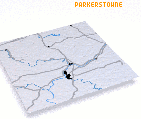 3d view of Parkers Towne