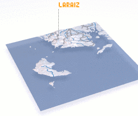 3d view of La Raíz