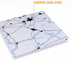 3d view of New Philadelphia