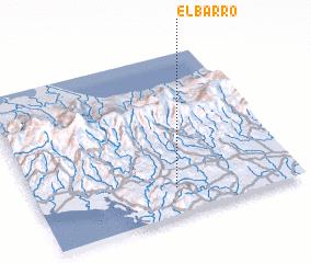 3d view of El Barro
