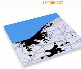 Lyndhurst Ohio Map.Lyndhurst United States Usa Map Nona Net