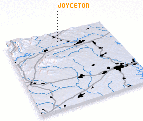 3d view of Joyceton
