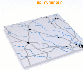 3d view of Halcyondale