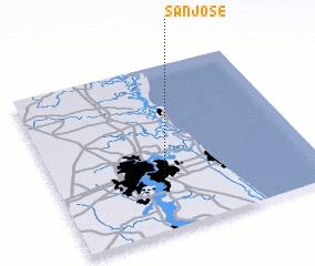 3d view of San Jose