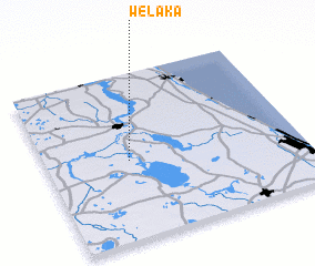 3d view of Welaka